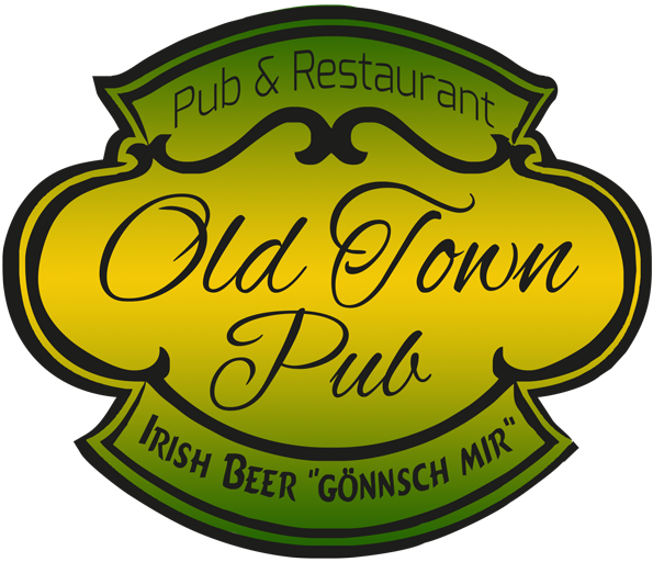 OLD TOWN PUB – Digitale Speisekarte